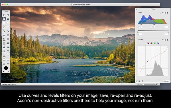 《Acorn 6.0.2 for Mac 破解版 位图图像编辑器》
