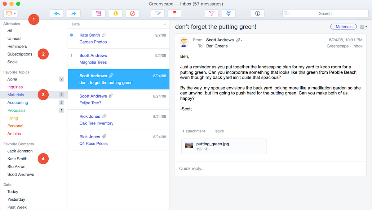 《Postbox 5.0.17 for Mac 破解版 强大而灵活的电子邮件客户端》