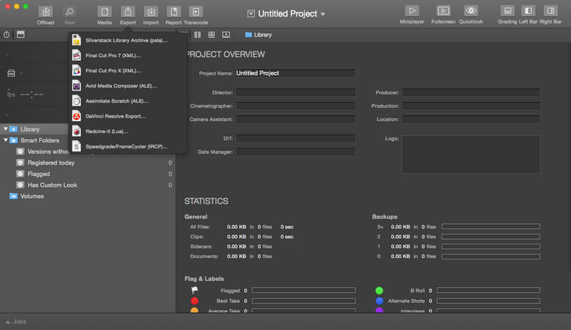 《Silverstack 5.4.2 for Mac 破解版 一体化数据管理解决方案》