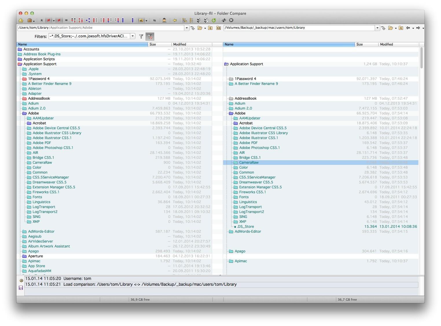 《Beyond Compare 4.2.3 for Mac 破解版 文件比较和合并文件夹》