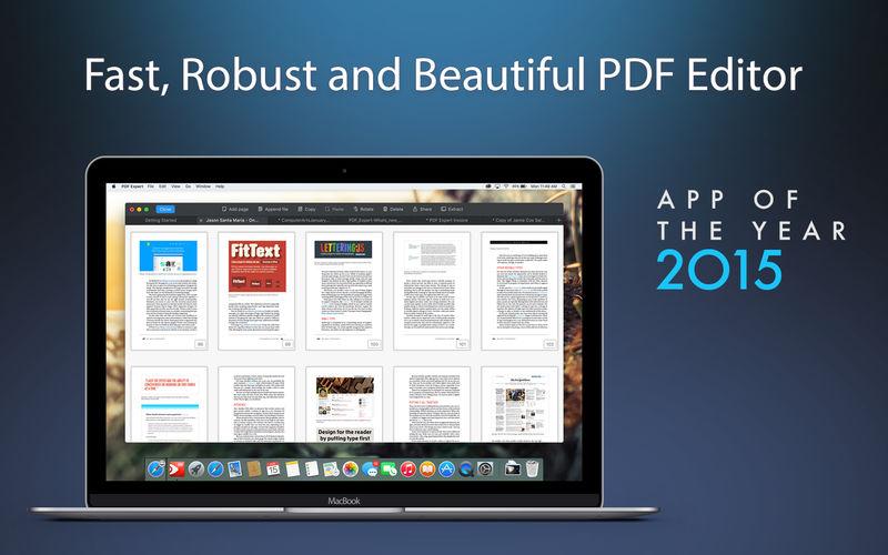 《PDF Expert 2.4.11 for Mac 破解版 阅读,注释,填写和签署PDF文档》